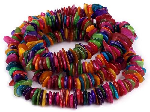 Perleťové zlomky - barevné - 10 cm