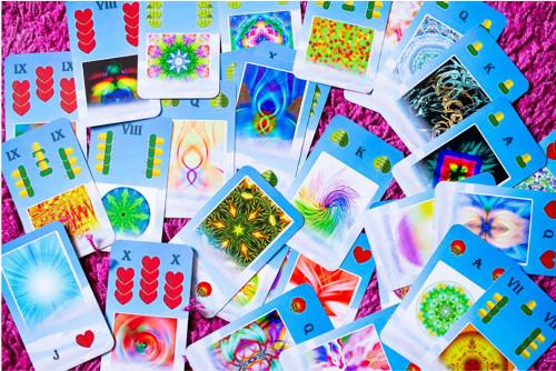 Autorské vykládací mariášové karty