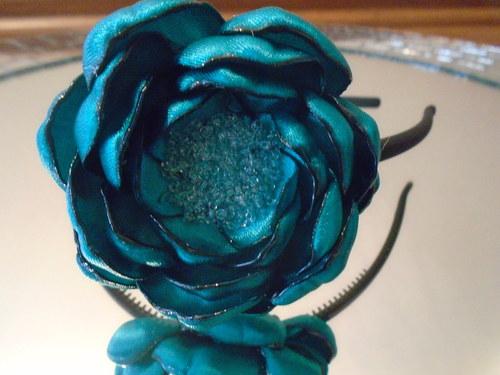 Čelenka - smaragdová