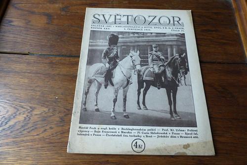 Časopis Světozor 21/1925