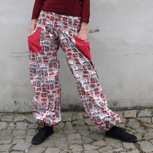 Turecké kalhoty Pro motonadšence