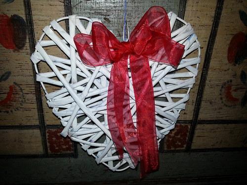 Papírové srdce z lásky