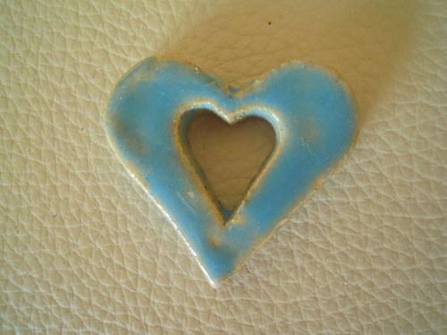Srdíčko z keramiky