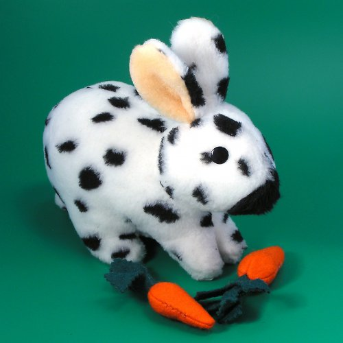 Králík Strakáč - autorská hračka