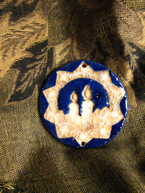 Doprodej - komponent dvě svíce pr. 8 cm