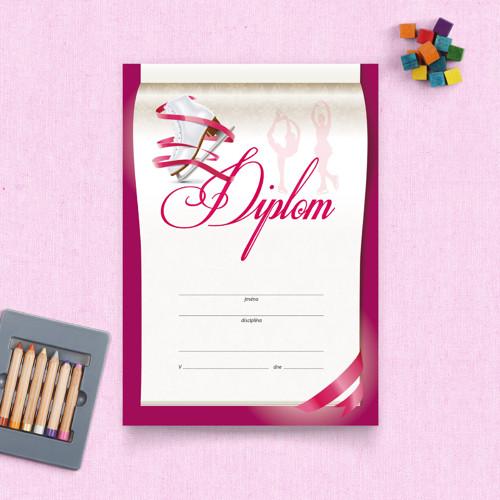 Diplom – Krasobruslení
