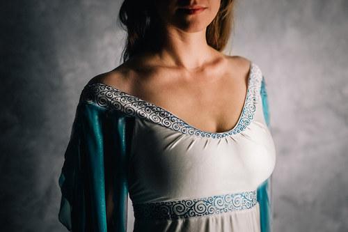 Rusalčiny svatební šaty