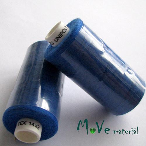 Nit Unipol 100%PES 500m modrá