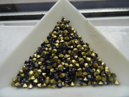 šaton skleněný 2,7-8 violet / 30ks/