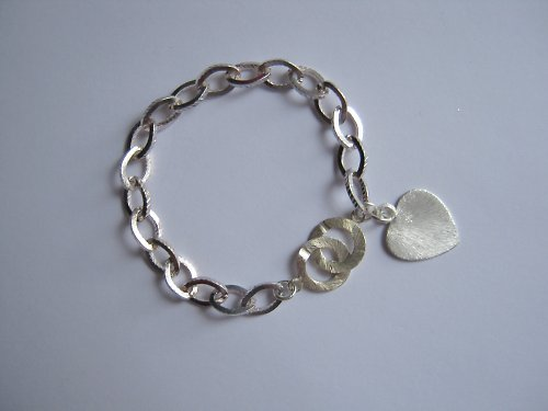 Luxury silver náramek
