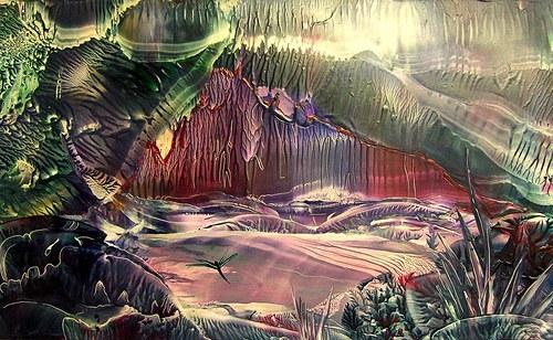 Pohled do jeskyně