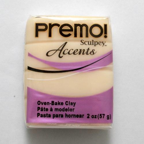 PREMO / Bílá průhledná (5527)