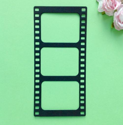 Filmový pás velký, barva dle přání (výsek)(VEC 18)