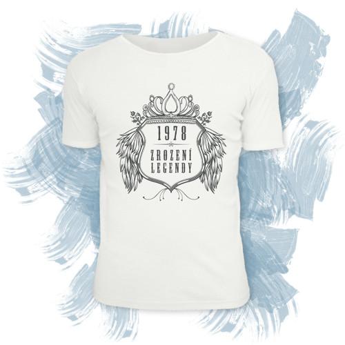 Tričko unisex s motivem zrození legendy 2