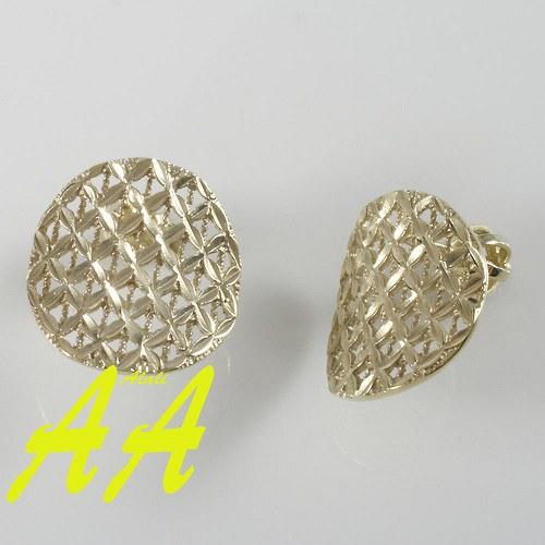 Žluté naušnice - sluníčka