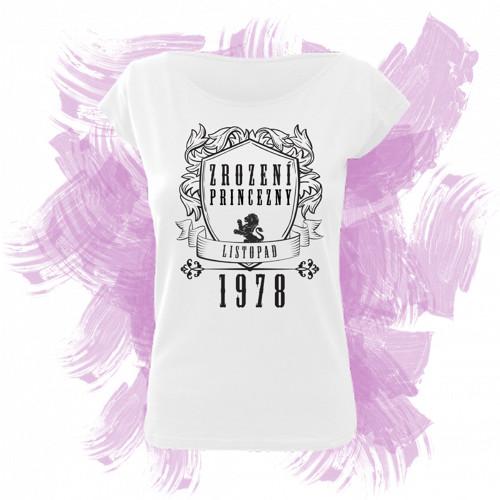 Tričko elegance s motivem zrození princezny 1
