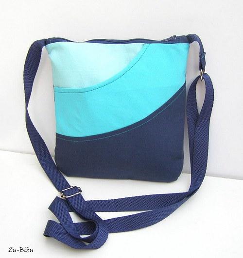 Modro tyrkysová