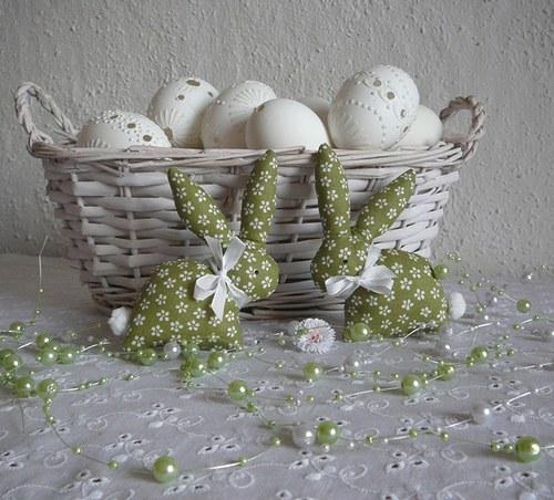 Zelený zajíček