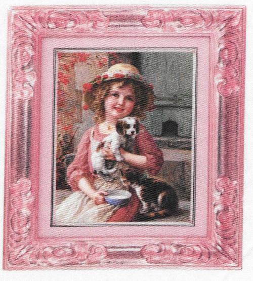 bavlněná látka - panel  11,5 x 13 cm