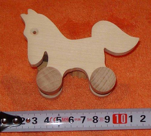 koník malý - dřevěná hračka