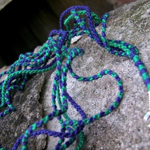 Paví náhrdelník