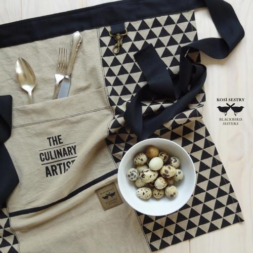The Culinary Artist... pánská zástěra do pasu