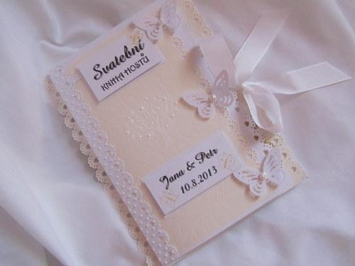 Expresní objednávka-Svatební kniha hostů