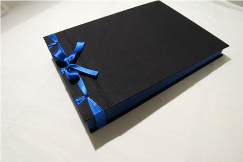 Fotoalbum černo-modré, 22*31cm, 30 listů
