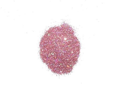 Třpytivý prach ledově růžový multicolor #2  4gramy