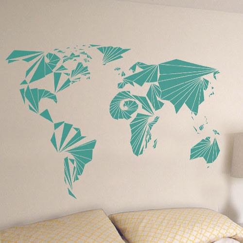 Mapa světa - Global geometry