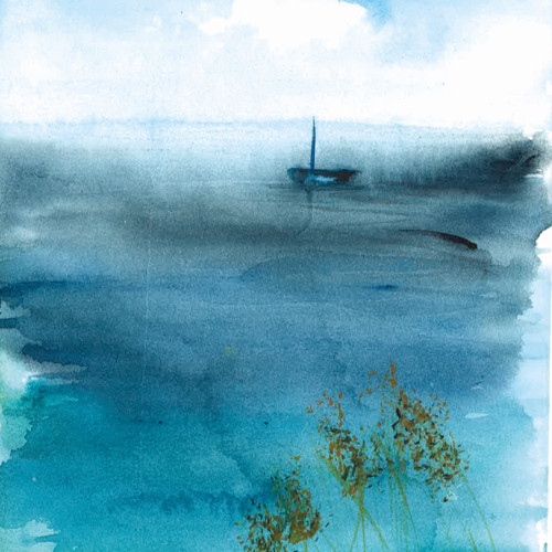 moře zasněné