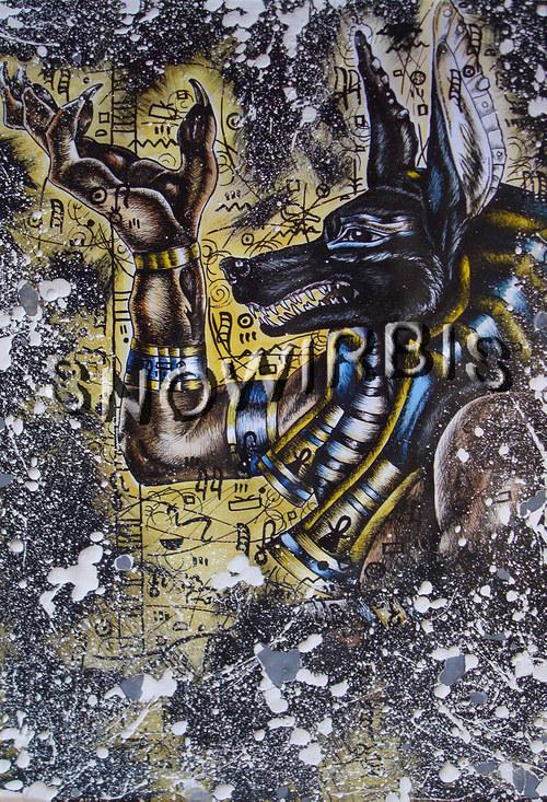 ANUBIS Egyptská božstva
