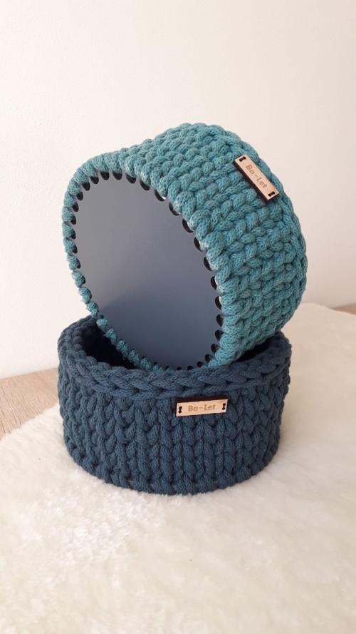 Sada košíku BLUE TONES