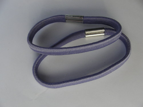 Gumička do vlasů, starofialová 0,5 cm
