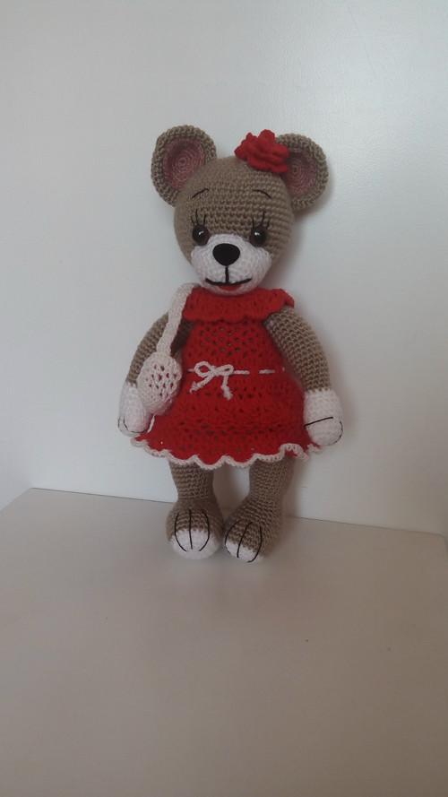 červená medvídka