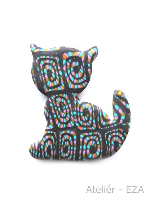Originální brož - kočka SLEVA ze 169 Kč na 79 Kč