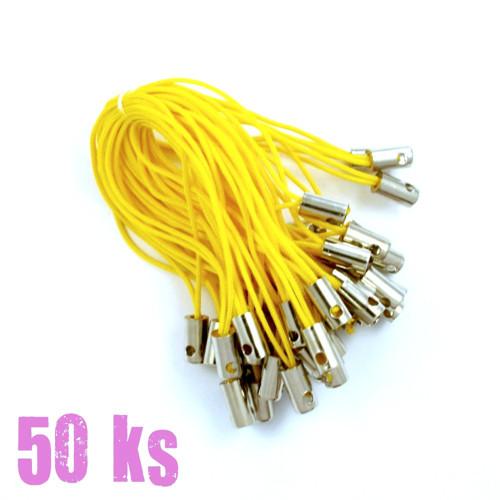 Žlutá poutka - 50 ks