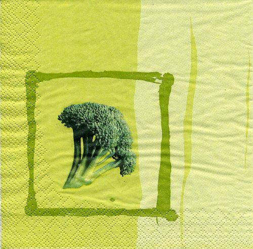 Ubrousek s brokolicí
