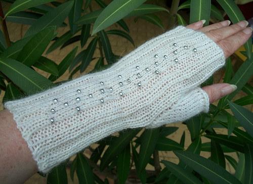 Pletené návleky na ruce - Rosana