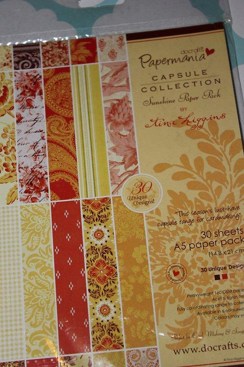 Capsule Collection Sunshine - sada papírů