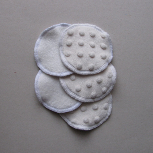 Kosmetické tampony - bambus. froté/minky