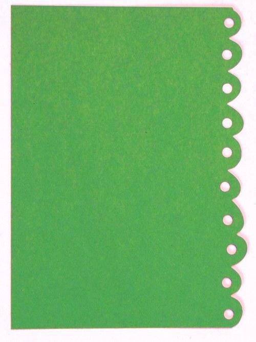 Stránka s bordurou - barva podle přání