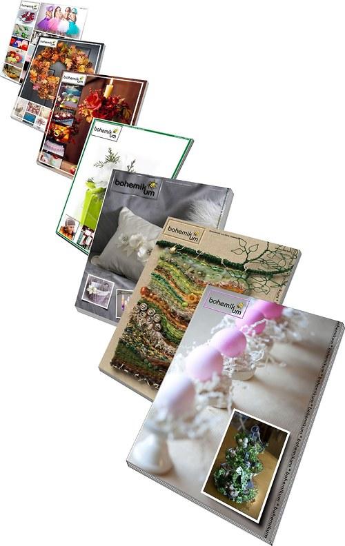 Kreativní časopis Bohemikum - předplatné 2015