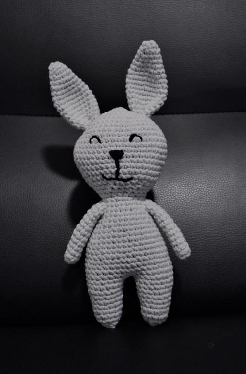 Zajko - šedý
