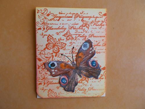 Magnetická záložka do knihy-motýl