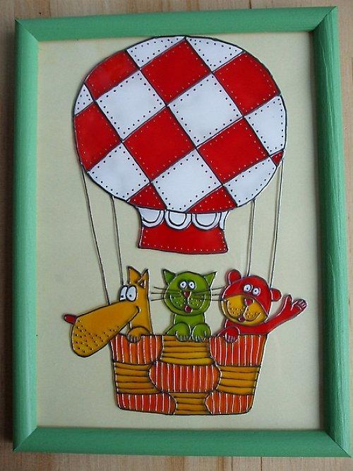 Zvířátka v balonu
