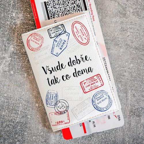 Obal na cestovní pas Razítka