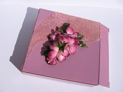 Krabička s kvítky