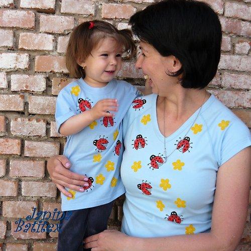 Set - Dětské a dámské tričko - Berušky