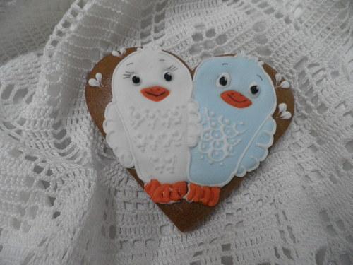 Srdce s ptáčky